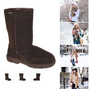 Brown BearPaw Meadow Mid Calf Boots